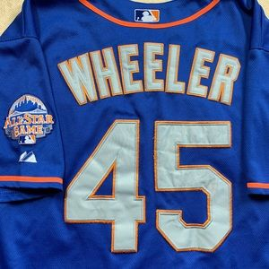 Zack Wheeler Mets 2013 sewn-on Jersey size 50